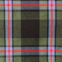 Brotherhood of the Kilt tartan - Wool Blend