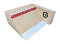 maze fingerboards quarter pipe fingerboard ramp