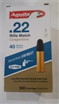 22 Long Rife 500 rounds