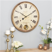 4059 - Raleigh Pendulum Wall Clock