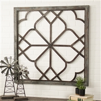 5452 - Belden Oversized Distressed Wall Decor