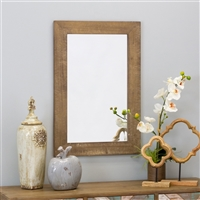 6077 - Morris Wall Mirror - Nutmeg 30 x 20