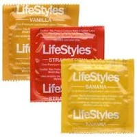 LifeStyles Assorted Flavors Condom