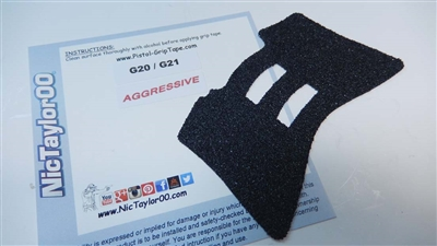 Glock Gen 3 Wrap Around Grip Tape Decal - Single