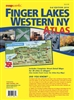Western NY Finger Lakes Atlas Map