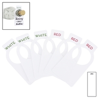 Winetags 50 Tags W/ Erasable Pen, Carded