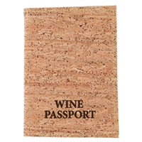 Wine Passport W/ Cork Cover In Display
