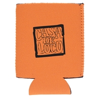 Custom Beverage Wrap, Orange, Bulk