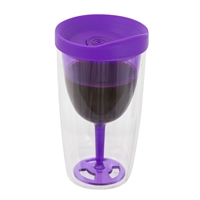Traveling Tumbler, Purple