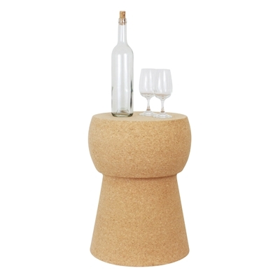 Champagne Cork Stool/Side Table
