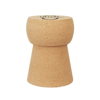 Custom Champagne Cork Stool/Side Table