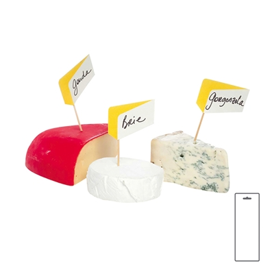 Cheesetags Set of 10, Carded