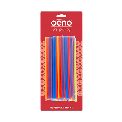 Beverage Straws, Carded