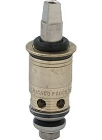 Chicago Faucet - 217-XTLHJKABNF - Hot Water Slow Compression Cartridge is designed for use where finer adjustment of water temperature and volume is required, often found on tub/shower mixing valves.