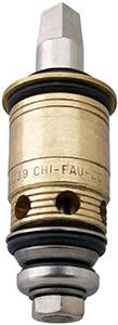 Chicago Faucets - 217-XTRHJKABNF - Cold Water Slow Compression Cartridge is designed for use where finer adjustment of water temperature and volume is required, often found on tub/shower mixing valves.