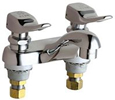 Chicago Faucets - 802-V336CP - 4-inch Center Lavatory Faucet