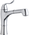 Elkay LKLFEC1041CR - Explore Low Flow Single Handle Pull Out Spray Kitchen Faucet, Polished Chrome