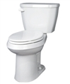 Gerber 21-517 Viper High Performance ErgoHeight™ 17-inch High Elongated Two-Piece Toilet