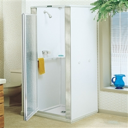 Mustee 82 DURASTALL® Shower Stall, 32-INCH x 32-INCH