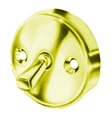 Pasco - 1157-PB - Polished Brass Overflow Plate with Trip Lever - With 2 Screws
