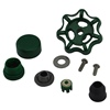 Prier Products - C-144KT-807 - Parts Kit for Style Prier C-144, Seat Washer Kit, Packing Kit, Handle Kit, VB Kit