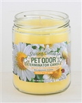 Pet Odor Exterminator Candle - Picking Daisies