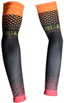 Sport Corsa - Arm Warmers - Dots - Orange/Red