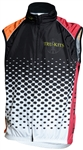Sport Corsa - Summer Vest Mesh- Dots - Orange/Red