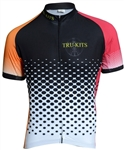 Sport Corsa - SS Jersey - Dots - Orange/Red