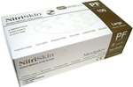 NitriSkin™ Nitrile Medical Exam Gloves, Powder-Free (White) (MG502)
