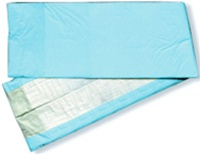 Dry Underpads,23X36, Standard Fluff, Blue Backing (EXUB2336)
