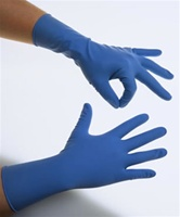 "High Risk Exam Gloves, Latex Powder-Free, 12"" Long, 15 mil Thick (MG1215)"