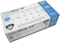 "NitriSkin™ XP - Extra Protection Nitrile Exam Gloves - 12"" Long, 8 mil Thick (MG5008HR)"