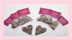 16 - 2 oz. Sendall Chocolates - Toffee Taboo Grab 'n Go Hearts