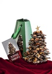 24 oz. Sendall Chocolates -New Toffee Taboo Holiday Tree Assembled