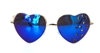 SAPHIRE HEART SHAPED SUNGLASSES