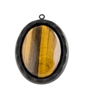 BROWN TIGER EYE NECKLACE