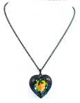 HEART THROB DRAGON HEART NECKLACE