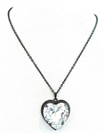 HEART THROB MOONDUST HEART NECKLACE