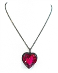 HEART THROB MOXIE HEART NECKLACE