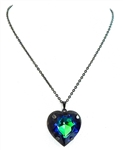 HEART THROB SPHINX HEART NECKLACE