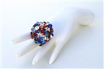 AMERICAN WOMAN XL BAUBLE RING