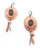 PONDEROSA SEPTEMBER DAWN CONCHO EARRINGS