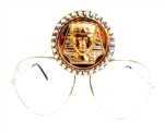 KING TUT OPAL AVIATORS
