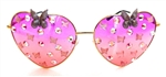 FAIRY REBEL BUCKEYE RANSOM BUTTERFLY JUMBO HEART GLASSSES