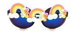 FANTASIA PASTEL RAINBOW ACID PEEKABOO GLASSES