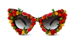 FRUIT PUNCH CATS MEOW GLASSES