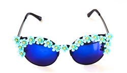 MORNING GLORY BLUE ACID COCO GLASSES