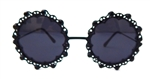 LOVELACE MIDNIGHT ROUND GLASSES