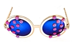 LUCY IN THE SKY WITH DIAMONDS AMERICAN BEAUTY BIRDCAGE GLASSES